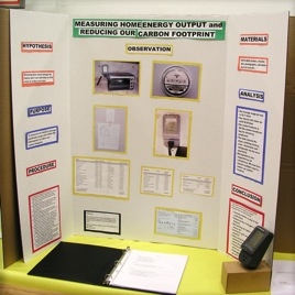4th Grade Science Fair Project: Electricity Audit