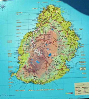 Back from mauritius climatechangefork a map of mauritius is shown above it is a small beautiful island that serves as home to about 13 million people gumiabroncs Images