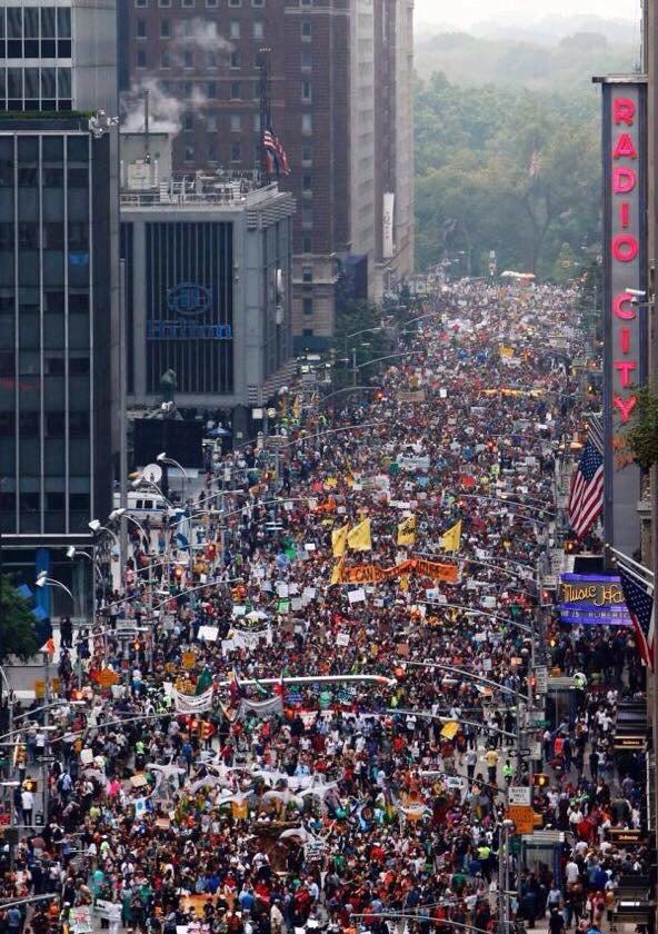 PCM March Crowd