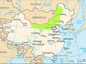 Mongolia Map UNPO