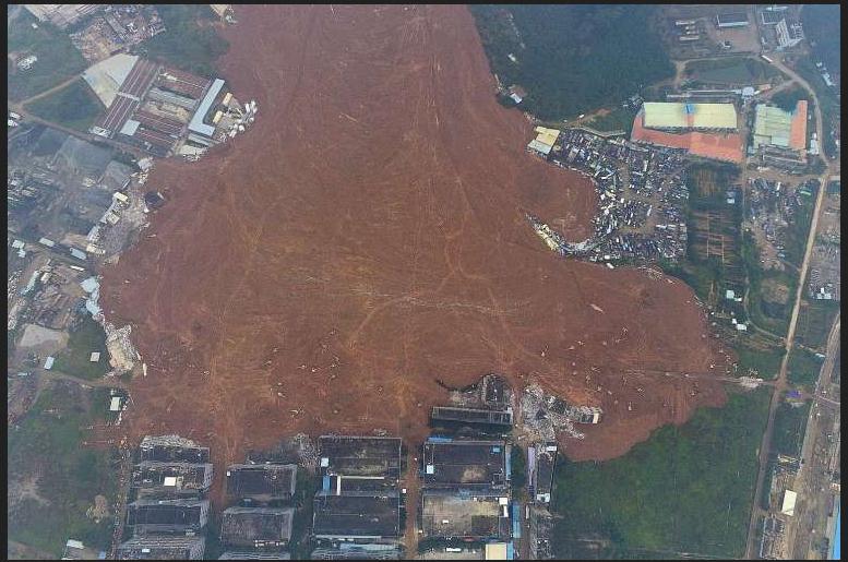 Shenzhen China Mudslide
