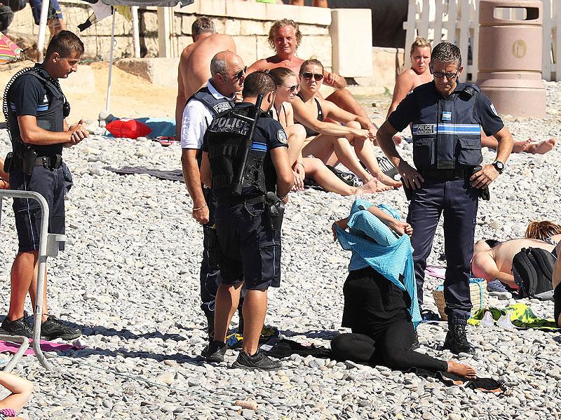 burkini police
