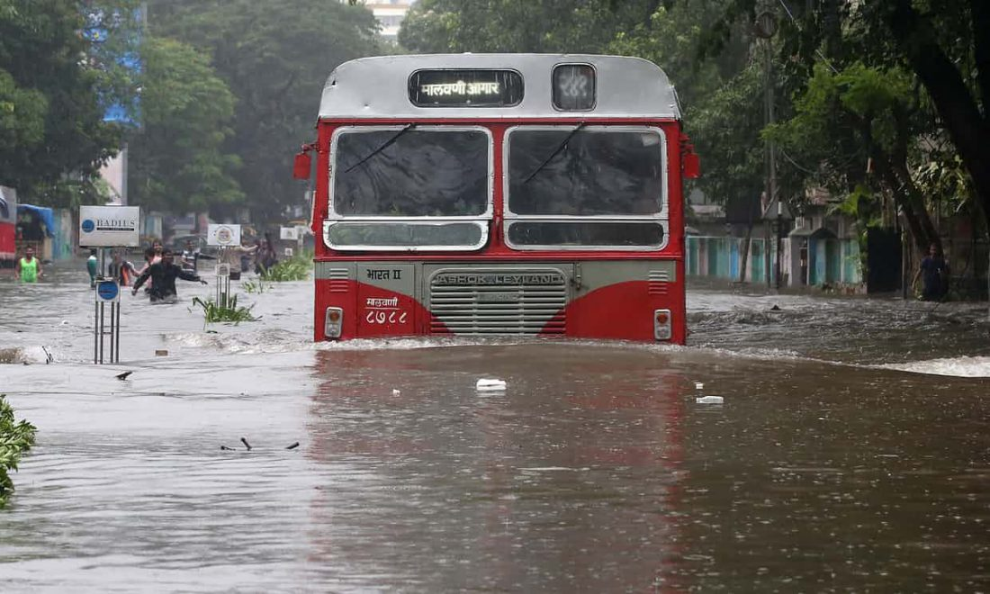 Mumbai monsoon flood