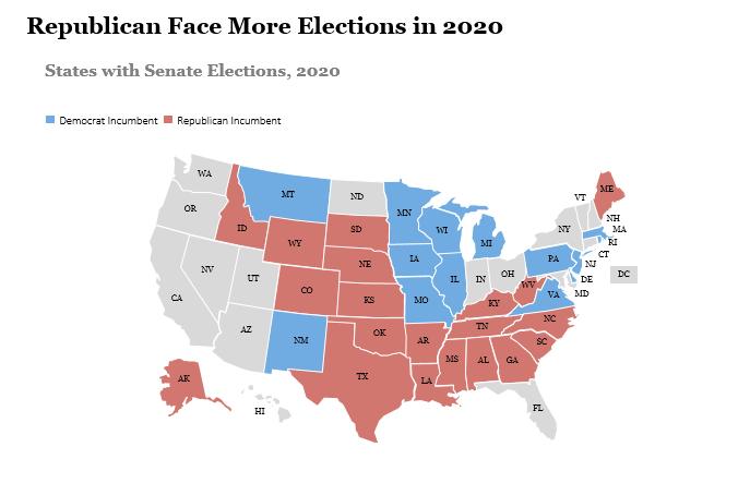 2020 senatorial map