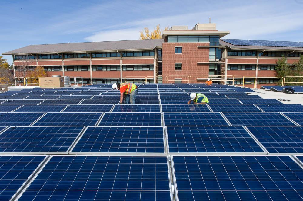 solar, sustainable, sustainability, university