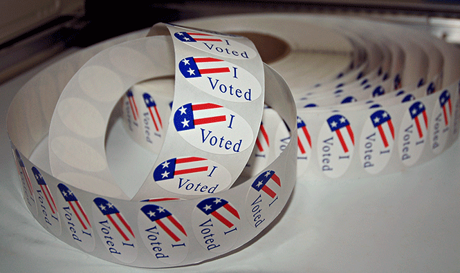 I voted stickers, freedom, liberty, vote, US