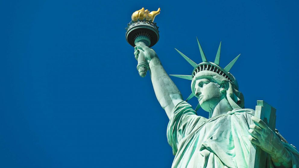 photo of statue of liberty, freedom, US, vote